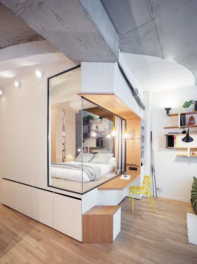 Contemporáneo Dormitorio by Atelier Pelpell