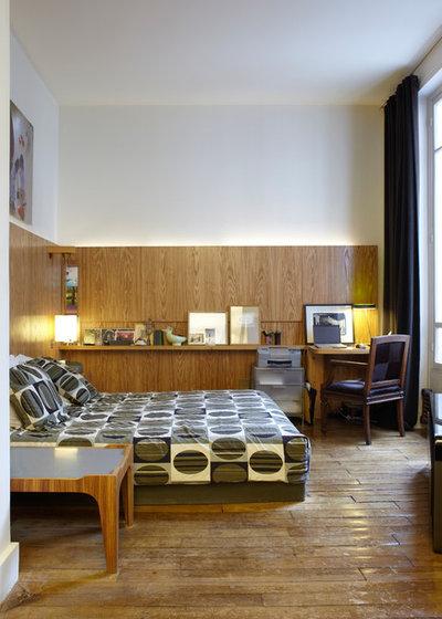 Contemporain Chambre by Eric Gizard interior design