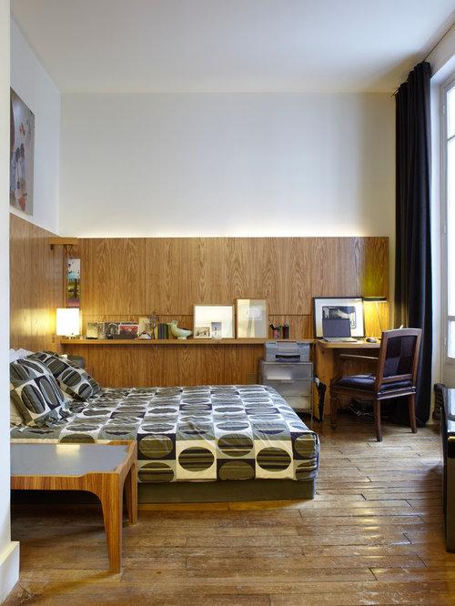 Chambre lambris blanc design de maison for Chambre lambris