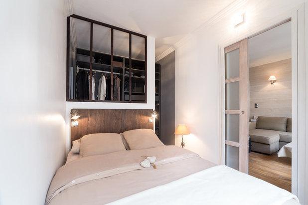 Contemporáneo Dormitorio by DECORATION PARISIENNE