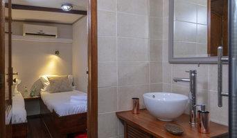 Péniche hotel 'La vie en rose'