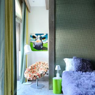 Inspiration pour une chambre design.