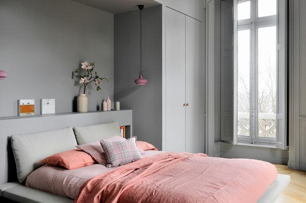 Современный Спальня by SYNESTHESIES