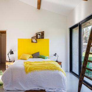 Retro Schlafzimmer in Bordeaux
