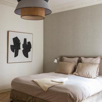 Rénovation complète d'un appartement haussmannien design et contemporain