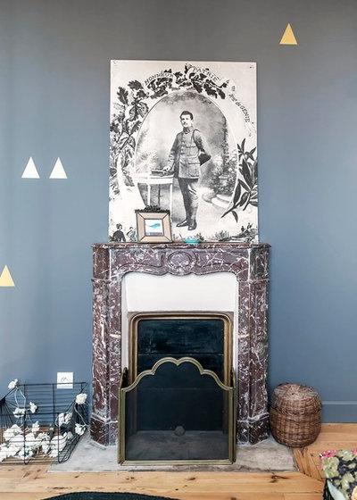 Contemporain Chambre by Atelier SOFI(A) - Sophie Lallias Architecte DPLG