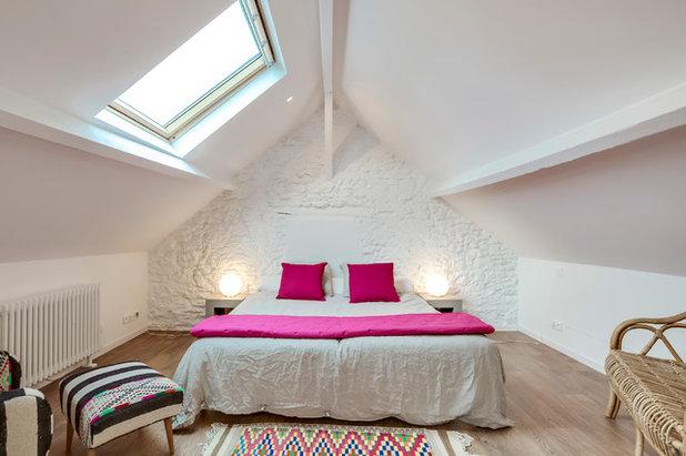 Contemporain Chambre by Inside Rénovation & Décoration d'intérieurs