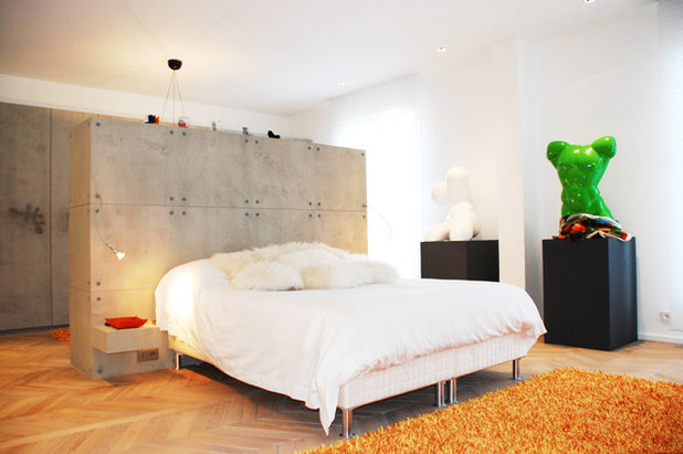 Contemporain Chambre by Concept Interieur