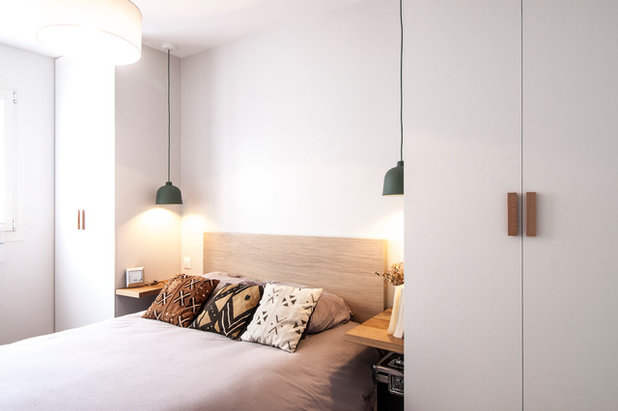 Contemporain Chambre by Bän Architecture
