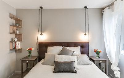 Vorher-Nachher: Ein Schlafzimmer, inspiriert von Hoteleinrichtung
