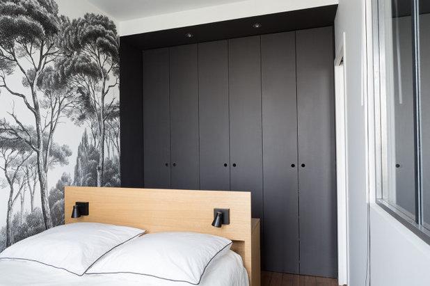 Scandinavian Bedroom by Lagom architectes