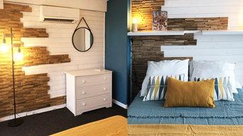 rénovation d'une chambre dans une marina