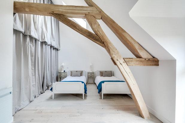 Scandinavian Bedroom by Gommez-Vaëz Architecte