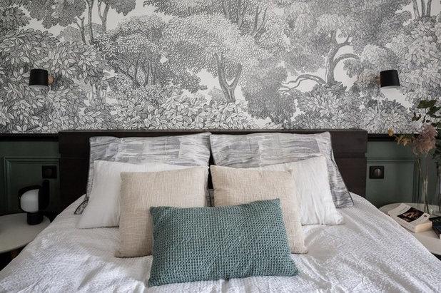 Contemporain Chambre by Atelier Devergne