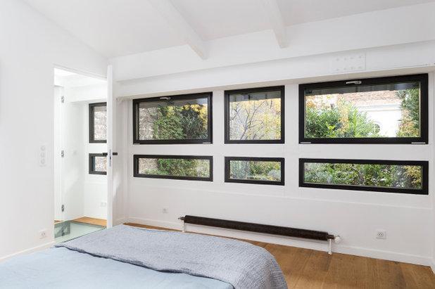 Contemporain Chambre by Lagom architectes