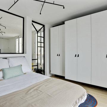 Rénovation et décoration d'un appartement, Montmartre