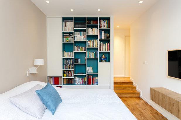 Модернизм Спальня by Mon Concept Habitation | Paris, Lille, London
