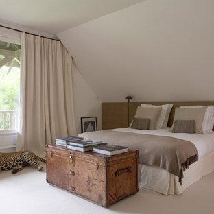 Idée de décoration pour une chambre design.
