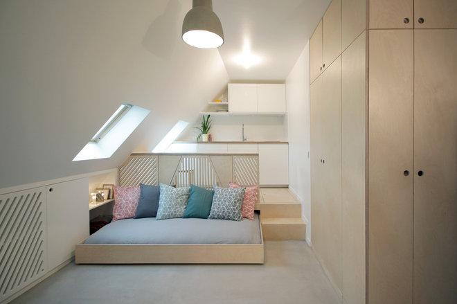 Современный Спальня by Batiik Studio