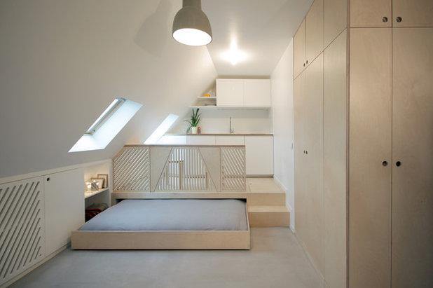 Contemporain Chambre by Batiik Studio