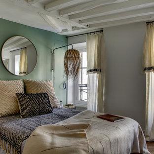 Camera da letto con pareti verdi Francia - Foto e Idee per ...
