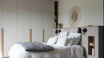 Salin - Dressing sur mesure et tête de lit