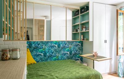 Avant/Après : À Paris, 14 m2 optimisés se mettent au vert