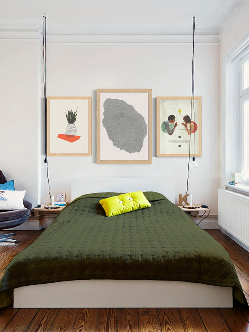 Chambre adulte scandinave photos et id es d co de for Taille minimum d une chambre