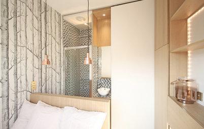 Frankreich Platz Sparen Auf 9 Quadratmetern: Zwei Pariser Mikro Apartments
