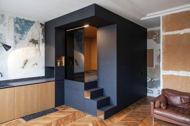 modern schlafzimmer by bertrand fompeyrine photographe