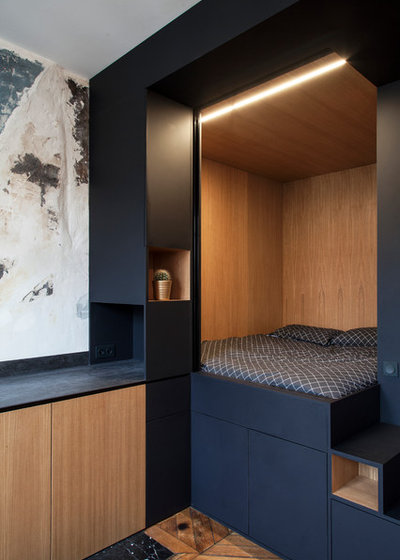 Contemporain Chambre by Bertrand Fompeyrine Photographe