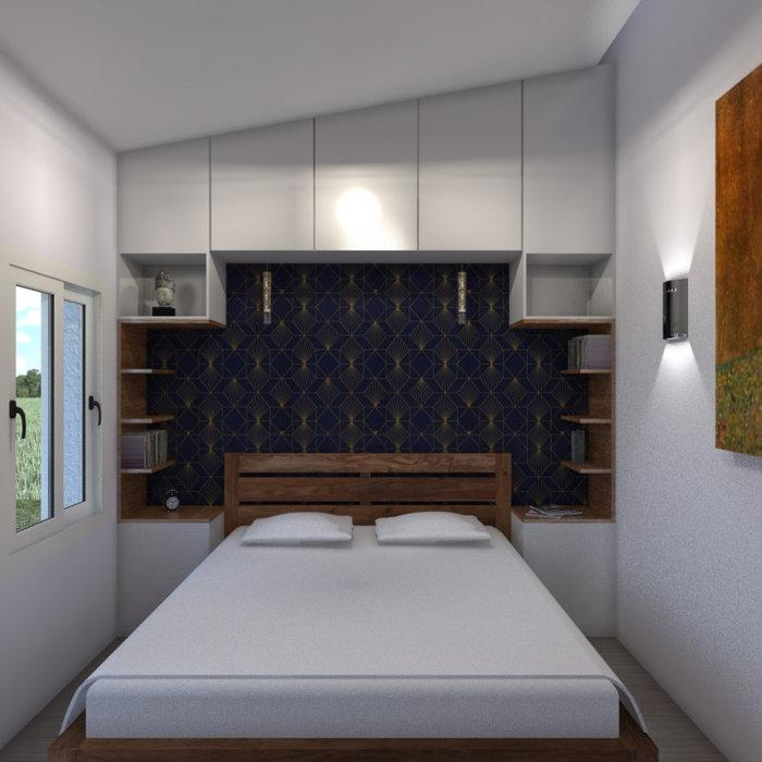 Surélévation et aménagement intérieur d'une maison