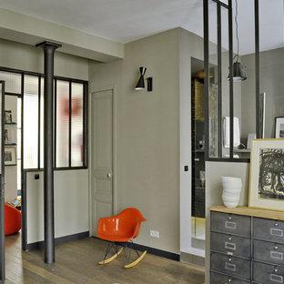 Eklektisches Schlafzimmer in Paris