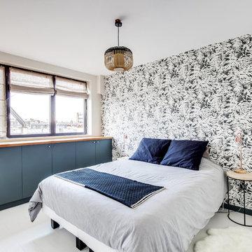 Un appartement parisien comme un loft new-yorkais