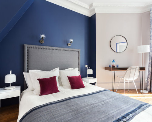 houzz bedroom paint colors top 20 blue bedroom ideas amp remodeling photos houzz 15573