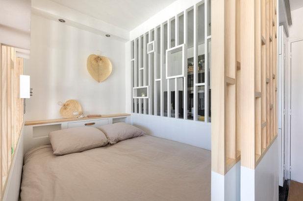 コンテンポラリー 寝室 by Décodage Création