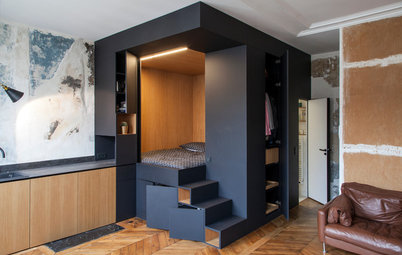 Trends: Create a Cozy Bedroom With a 'Sleeping Box'