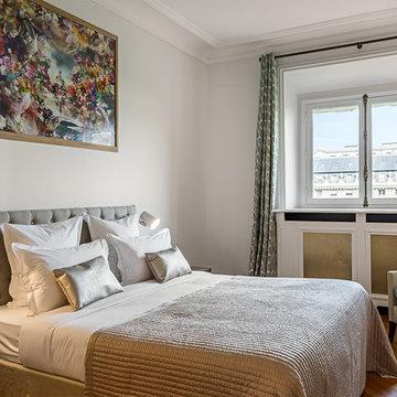 Une chambre dans appartement classique chic à Paris