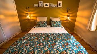 Une chambre très accueillante