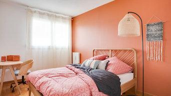 Une colocation chaleureuse et colorée à Cergy.