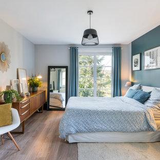 Chambre Avec Un Sol En Bois Foncé Photos Et Idées Déco De Chambres