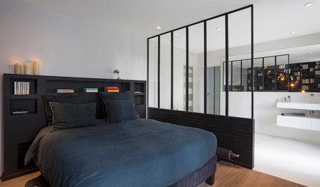 Comment recloisonner l'espace salle de bains dans une chambre ?
