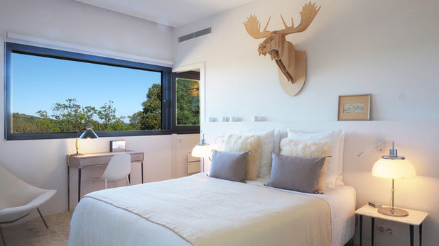 Moderne Chambre by Sylvie Bagros