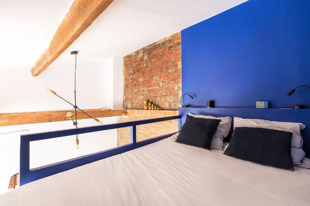 Industriel Chambre by NEVA Architecture Intérieure - Interior Design