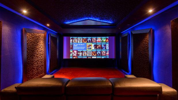 Contemporáneo Cine en casa by CtrlB Dream Factory