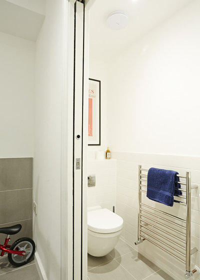 Contemporary Cloakroom by ARCHEA Ltd