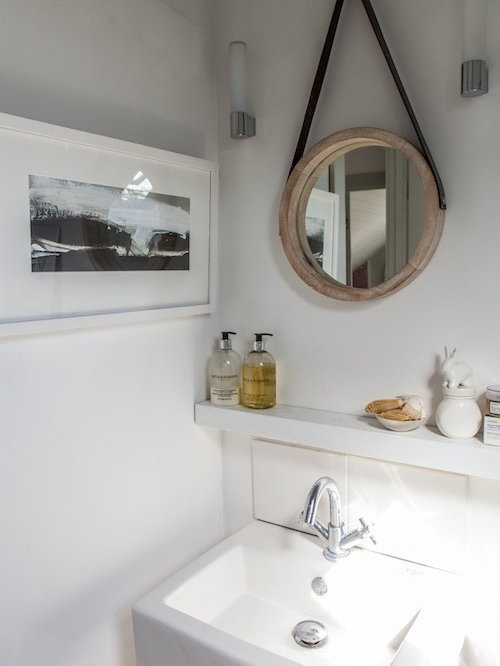beach style united kingdom powder room design ideas remodel pictures