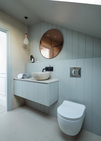Scandinavian Cloakroom by JLB Property Developments
