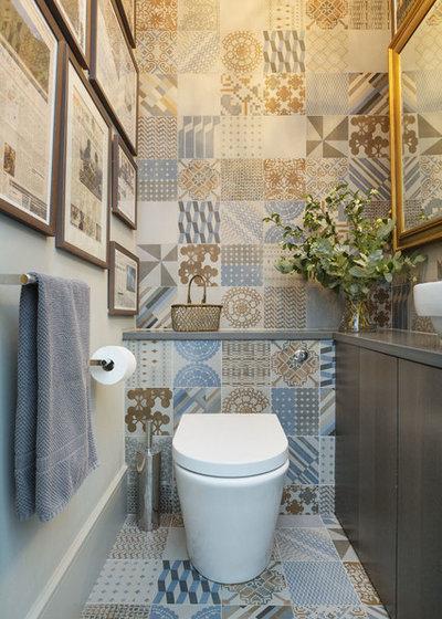 20 pavimenti che stanno bene in un piccolo bagno - Bagno in un metro quadro ...