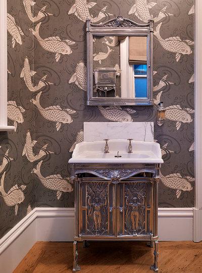 Victorian Powder Room by Jamie Hempsall Ltd
